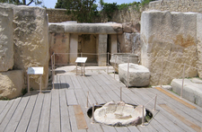 The Excavated Ruins In Tarxien