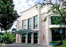 The Facade Of The Angelo King Center