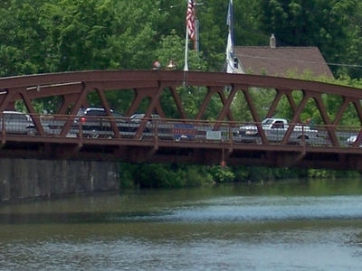 The Fairport Lift Bridge