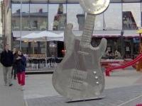 The Latvian musicians' walk of fame