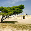 The Forecourt Of Hagar Qim Temple