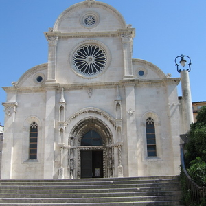 The Front Side Of The Cathedral