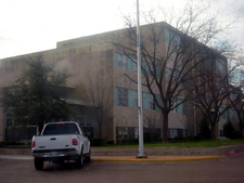The Gaines County Courthouse In Seminole.