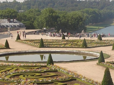 The Gardens Of Versailles Palace