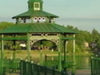 The Gazebo At Hobarts Lakefront Park On The Shore Of Lake Georg