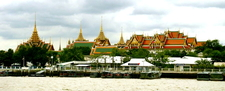 The Grand Palace From Chao Phraya River
