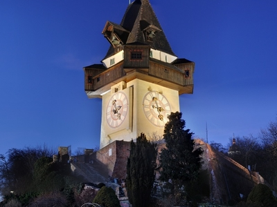 The Grazer Schloberg Clock Tower.
