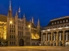 The Guildhall Art Gallery At Right