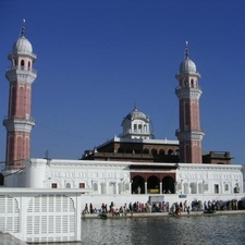 The Harmandir Sahib Watch Towers