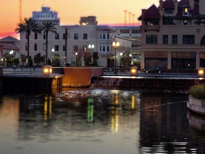 The Head Of The Stockton Deep Water Channel From Center Street