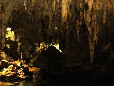 The Hinagdanan Cave