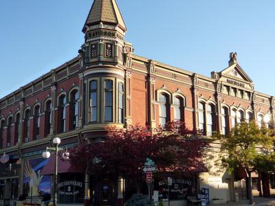 The Historic Davidson Building Completed In 1890 Ellensburg Wash