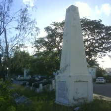 The Holetown Monument