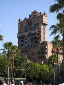 The Hollywood Tower Hotel Overlooking Sunset Boulevard