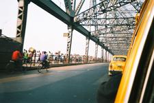The Howrah Bridge During Daytime