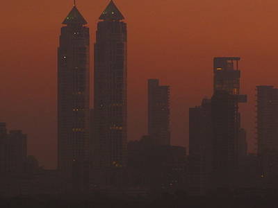The Imperial Towers At Dusk