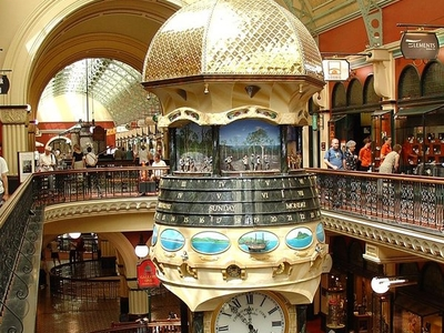 The Interior With The Great Australian Clock