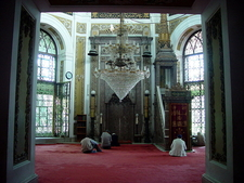 The Interior Of The Mosque