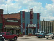 The Iris Theatre In Downtown Terrell Is Home To Books And Crann