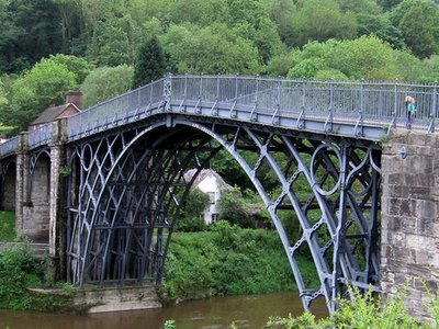The Iron Bridge Viewed