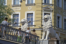 Modern View Of The Lion Sculptures