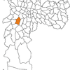 The Location Of Morumbi District In So Paulo