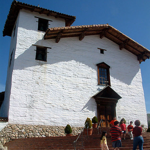 The Main Façade Of The Mission