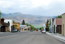 The Main Street Of Challis