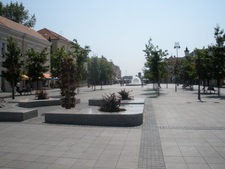Main Square In Slavonski Brod