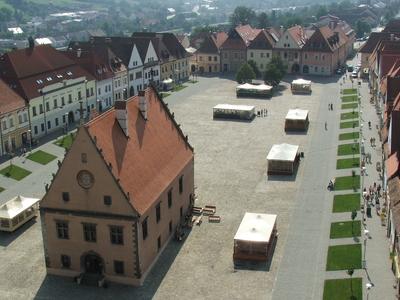The Main Square In Bardejov