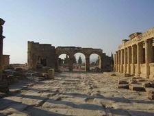 The Main Thoroughfare Of Hierapolis