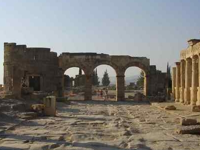 The Main Thoroughfare Of Hierapolis
