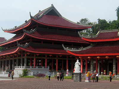 The Main Temple Left
