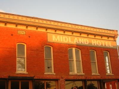 The Midland Hotel Of Hico Texas