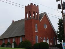 The Mill Creek Baptist Church In Troutville Virginia.