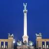The Millennium Monument In Heroes Square