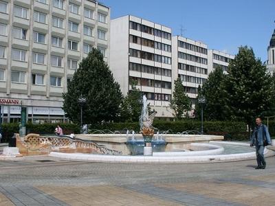 The Millennium Fountain, Debrecen