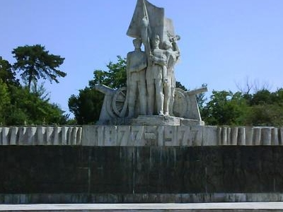 The Monument Commemorating The Soldiers Who Fought In The War