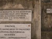 El monumento de la 39 ª infantería húngara
