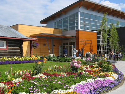 The Morris Thompson Cultural And Visitors Center