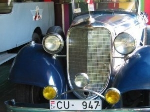 O Museu de Veículos Antigos
