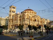 The Neo Byzantine Cathedral Of Holy Trinity Quotagia Triadaquot.