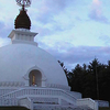 The New England Peace Pagoda Is In Leverett Massachusetts.