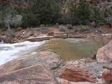 TheOak Creek Irrigation Canal - Zion - Utah - USA