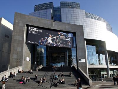 The Opéra Bastille