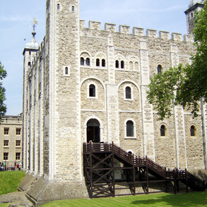 The Original Entrance To The White Tower