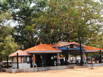 The Parabrahma Temple At Padanilam Noornad