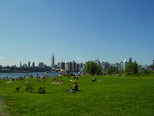 The Park Is A Popular Spot For Sunbathing