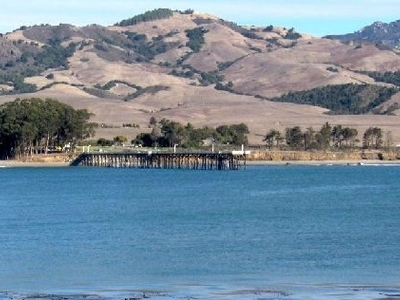 The Pier At San Simeon Beach