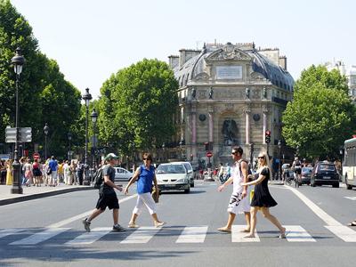 The Place Saint-Michel
